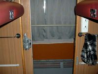 The door at the coupe compartment