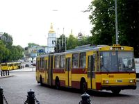 Ukraine's public transportation